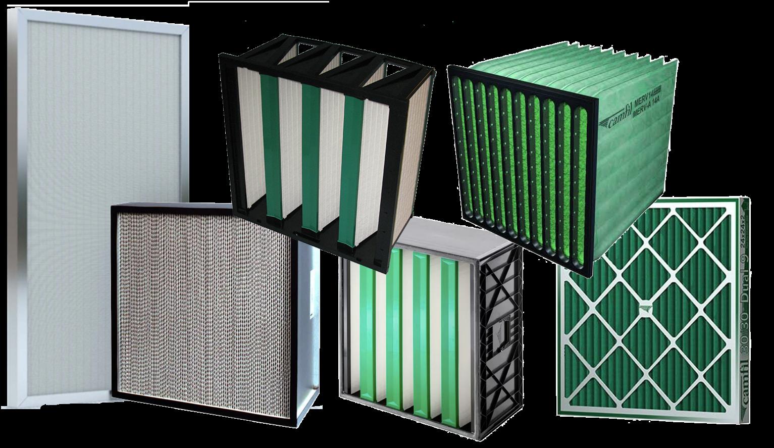 Filtros de Aire HVAC Camfil Mexico