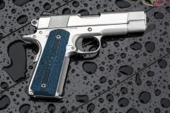 John's new Pete Single 1911, VZ, 1911, Colt blue black stipple texture