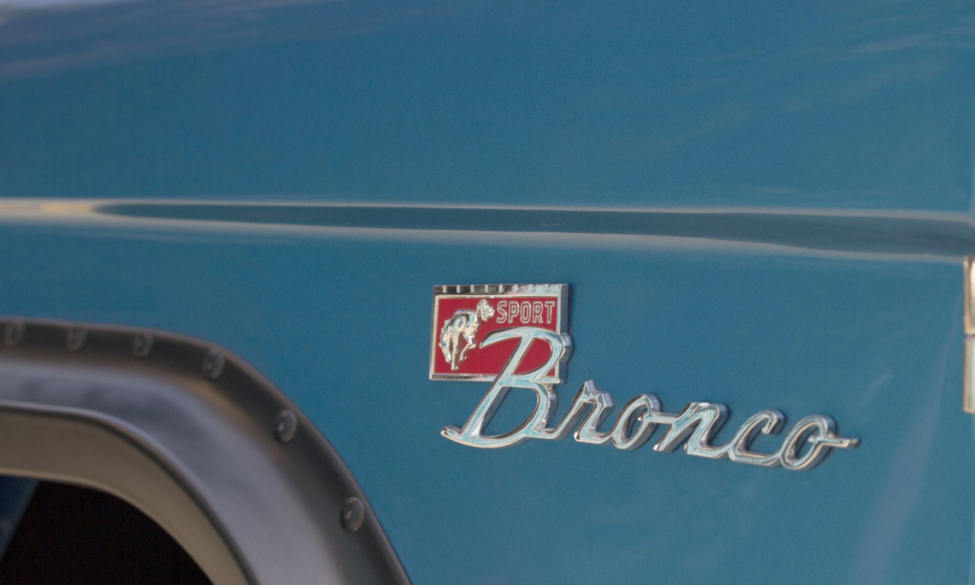 Bronco Services: Restoration