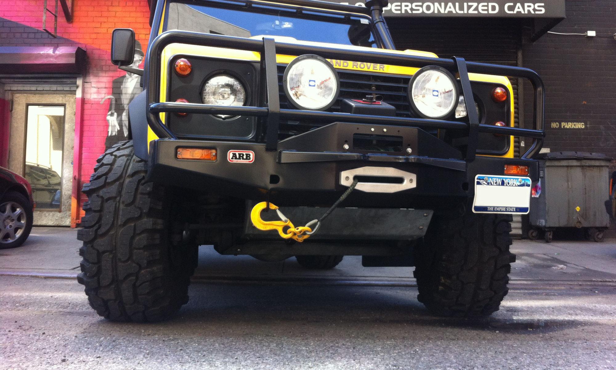Custom Land Rover Skye Defender