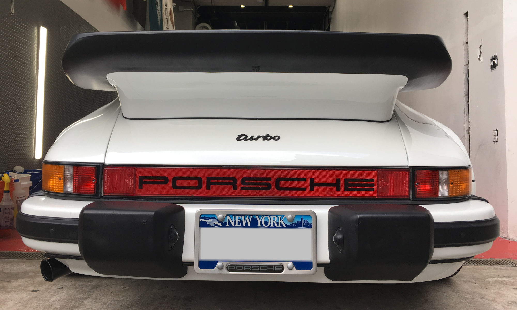 930 Porsche Turbo Detail and Clear Wrap