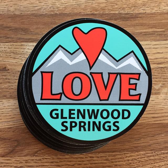 Love Glenwood stickers