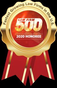 Law Firm 500 2020 Award Winner Siegel Law Group