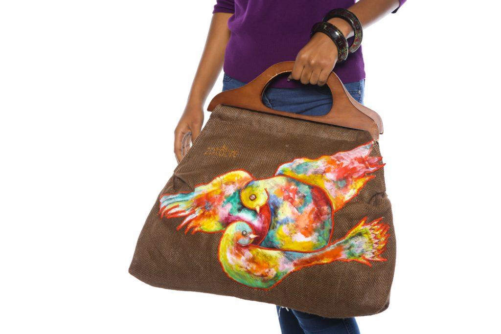 The Brown Romeo & Juliet Bag