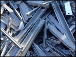 Salisbury Scrap clean aluminum extrusion