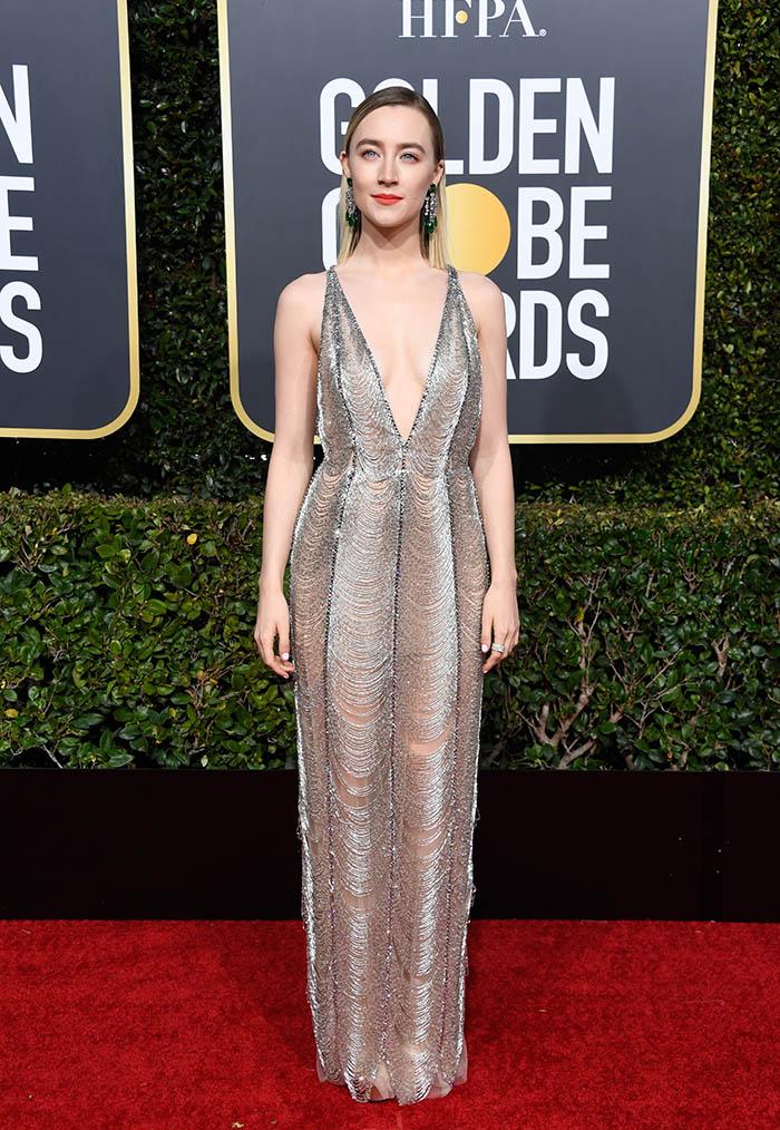 Saoirse Ronan 76th Annual Golden Globe Awards