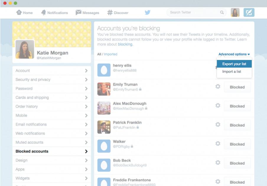 twitter block tools