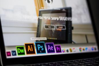 Visual Design adobe Photoshop data desk
