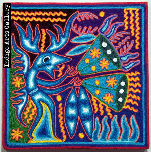 Cauyumarie Offers his Life which is the Peyote which Gives Vision and Energy