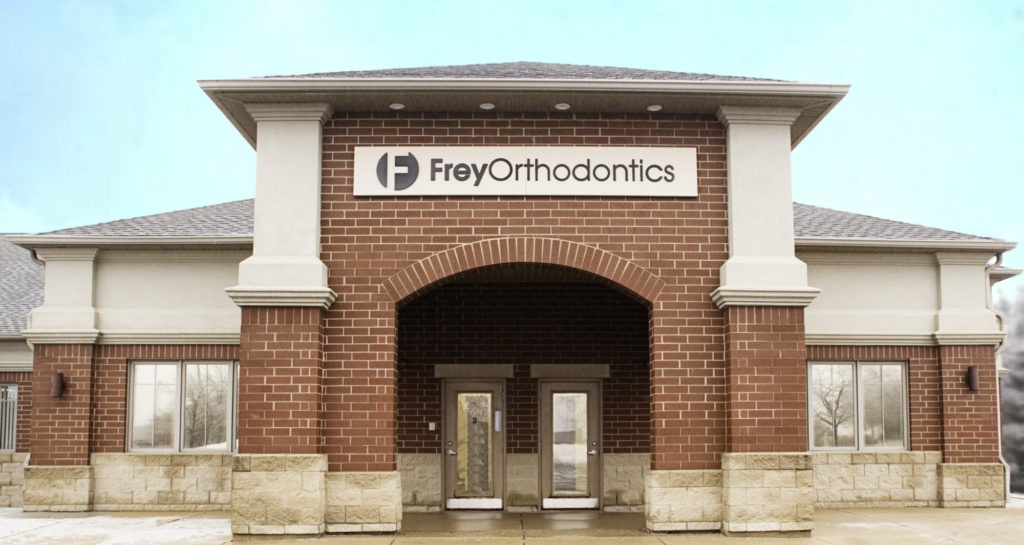 Frey orthodontics office exterior