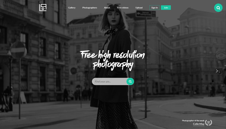 life of pix homepage