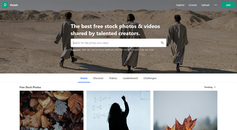 pexels free stock photos homepage