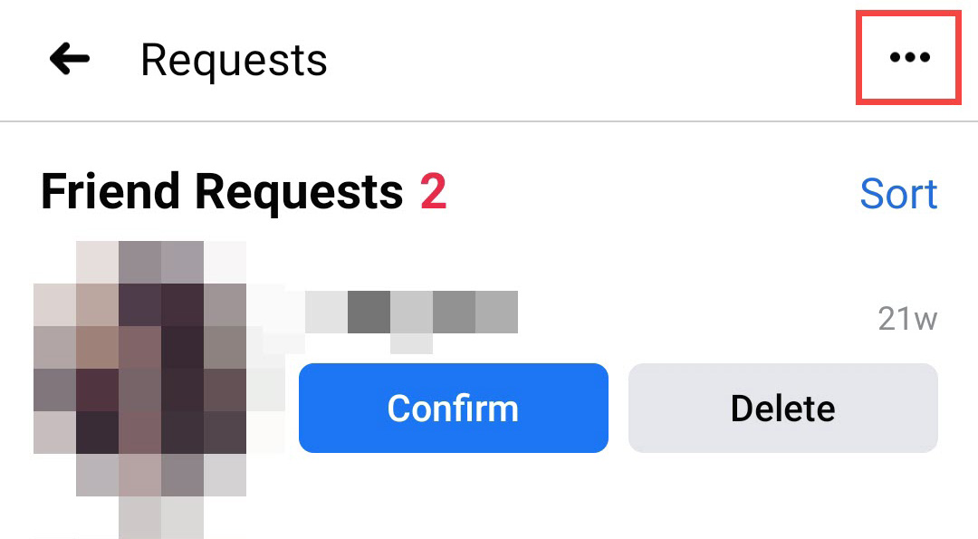 see all requests on mobile 2