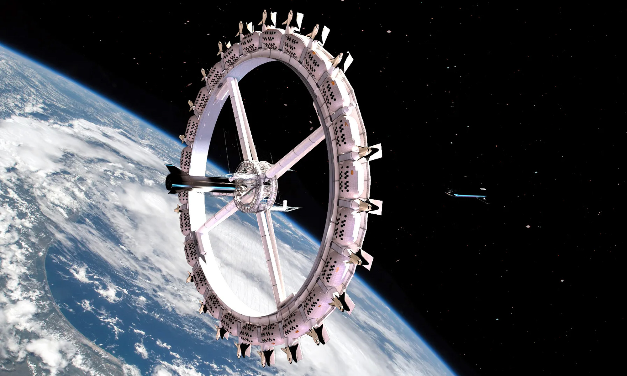 the first space hotel is set to open in 2027