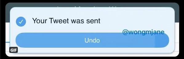 twitter undo tweet button