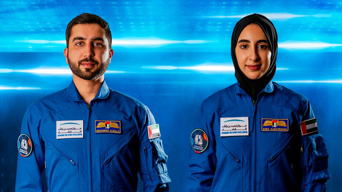 noura al-matroushi and niganned al-mulla uae astronauts