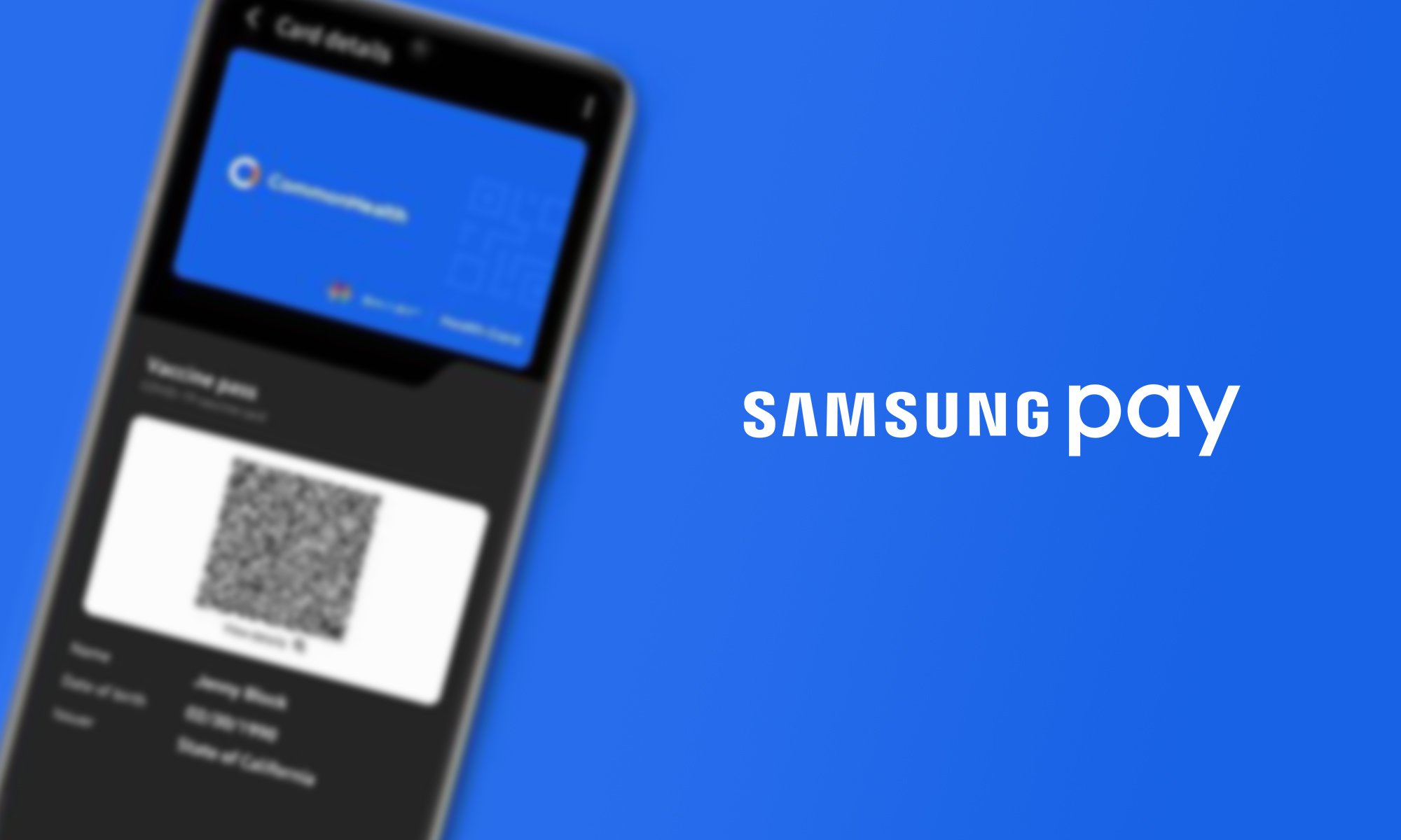 samsung pay introduces support for digital covid-19 vaccination cards