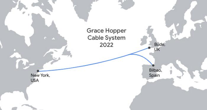 google grace hopper cable system 2022