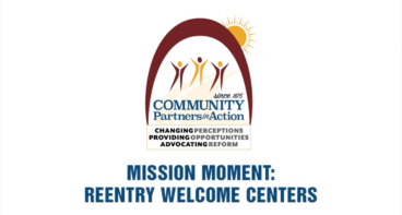 Mission Moment: Reentry Welcome Center Introduction