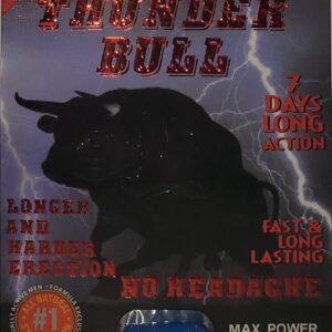Thunder Bull 1ct Pill Packs Male Enhancement