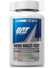 GAT Men's Multi Vitamin + Test