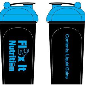 flex it nutrition shaker bottles