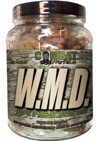 Combat Nutra W.M.D mass gaining vitamin packs