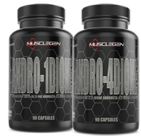 MuscleGen Research Andro-1-Dione & Andro-4-Dione Stack