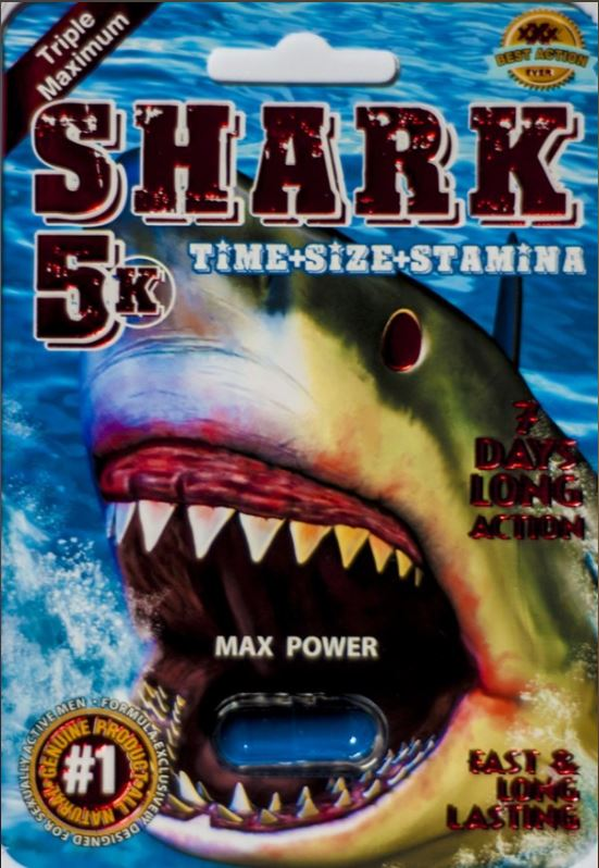 Shark 5K Male Enhancement Pill