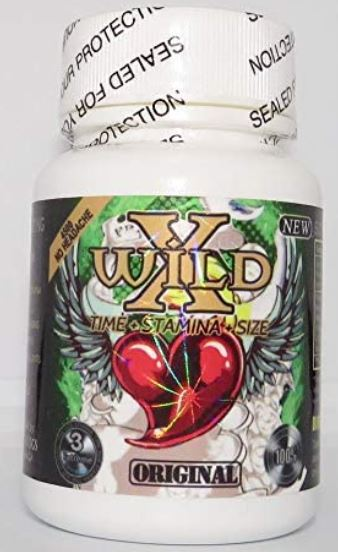Wild X Monster 4500 24ct bottle