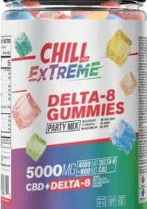 hill Plus CBD & Delta-8 (THC) Extreme Gummies – 5000X, 2000ct