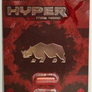 Hyper X 4000 Red 2ct Pill PackMale Enhancement