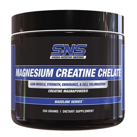 Serious Nutrition Solutions (SNS) Magnesium Creatine Chelate