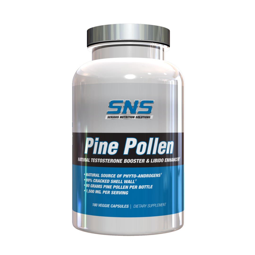 Serious Nutrition Solutions (SNS) Pine Pollen