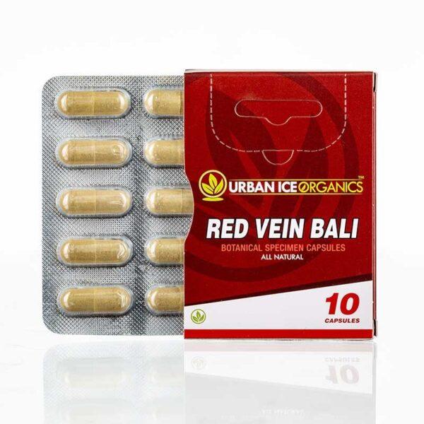 Urban Ice Organics Red Vein Bali 10ct