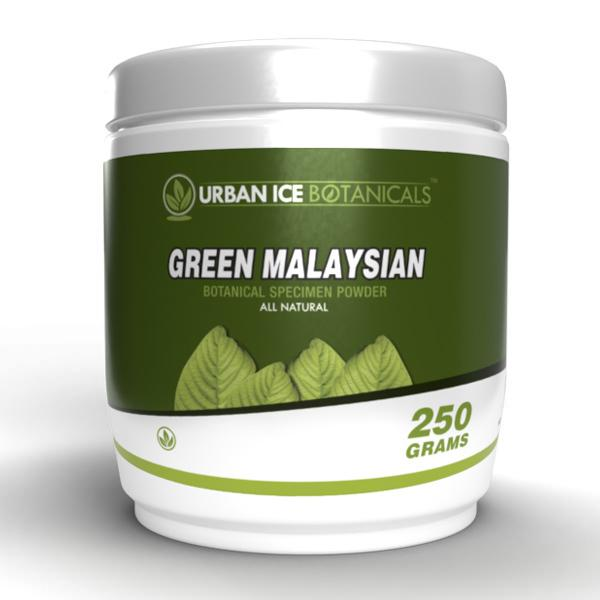 Urban Ice Organics Green Malaysian 250g