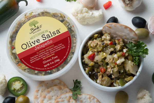 Beckis Jalapeno Mediterranean Olive Salsa