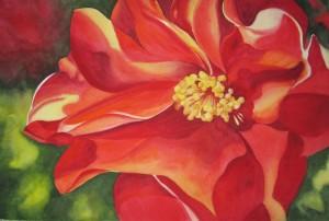 Large Petal Floral Watercolor Workshop image 2