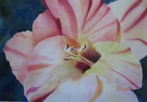 Large Petal Floral Watercolor Workshop image 1