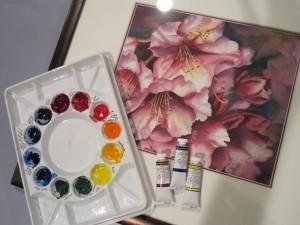 Color Study Triads II Watercolor Workshop