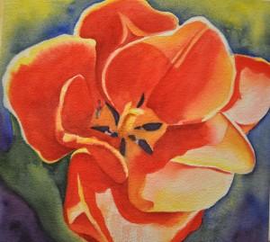 Terrific Tulips Watercolor Workshop