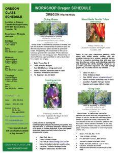 Aman Arts Newsletter Current Classes Jan-Mar 2017