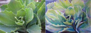Going Green Watercolor Workshop
