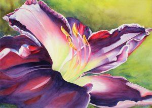 Summers Splendor - 30″ x 38″ Original Framed Watercolor :: $1,000.00