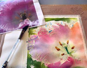 Pink-ing Tulip Watercolor Workshop