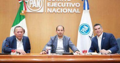 Se reunieron dirigentes de Va por México para analizar temas de la agenda nacional y legislativa