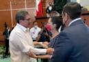 Ricardo Monreal y Claudia Sheinbaum se encontraron en toma de protesta de la gobernadora de Guerrero.