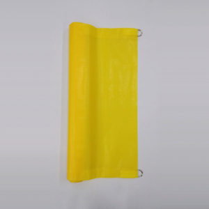 Poly Banner - Yellow 2' (Open)