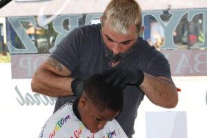 Mike at Tyler'z Barbershop