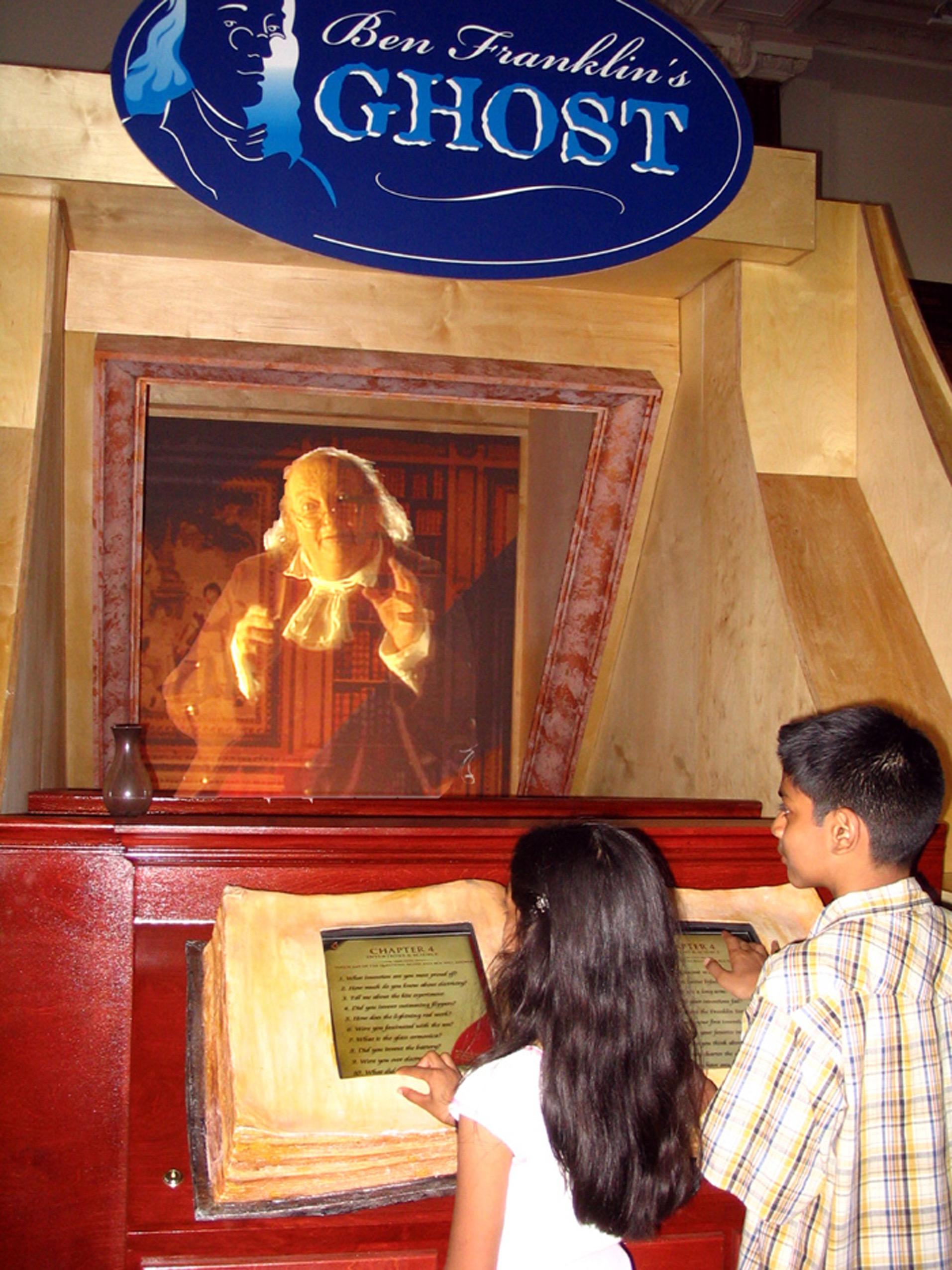 Ben Franklin's Ghost